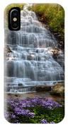 Benton Falls In Spring IPhone Case