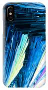 Benzoic Acid Microcrystals Color Abstract IPhone Case