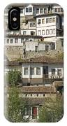 Berat Old Town In Albania IPhone Case