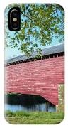 Berks Courty Pa - Griesemer's Covered Bridge IPhone Case