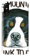 Bernese Mountain Dog Paradise IPhone Case
