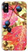 Berries And Leaves IPhone Case