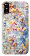 Berries Around The Tree - Abstract Art IPhone Case