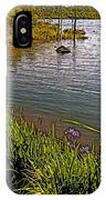 Berry Hill Pond In Gros Morne Np-nl IPhone Case