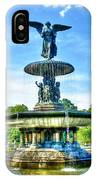 Bethesda Fountain At Central Park IPhone Case