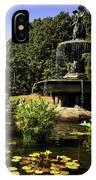Bethesda Fountain - Central Park 2 IPhone Case