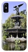 Bethesda Fountain Iv - Central Park IPhone Case