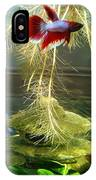 Betta Fish Moby Dick IPhone Case