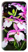 'betty' Orchid IPhone Case