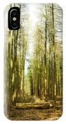 Betweenthe Trees IPhone Case