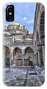 Beyazit Camii Mosque IPhone Case