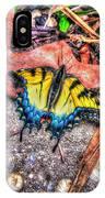 Beyond Chrysalis-tiger Swallowtail IPhone Case