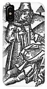 Bezoar Stone, 1491 IPhone Case
