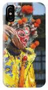 Bian Jiang Dancer  Pastel Chalk IPhone Case