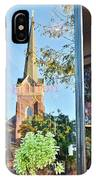 Biblion Used Books Reflections 3 - Lewes Delaware IPhone Case