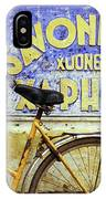Bicycle 01 IPhone Case