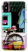 Bicycle By Antique Shop IPhone Case