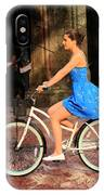 Bicycle Girl 1c IPhone Case