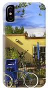 Bicycle In Santa Fe IPhone Case