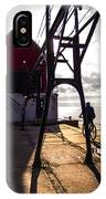 Bicycle On Grand Haven Pier IPhone Case