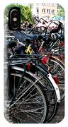 Bicycle Parking Lot IPhone Case