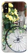 Bicycle Plant Holder IPhone Case