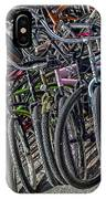 Bicycles For Rent IPhone Case