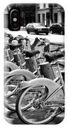 Bicycles - Velib Station - Paris IPhone Case