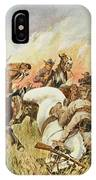 Biddulphsberg A British Cavalry Force IPhone Case