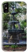 Bienville Square Fountain Closeup IPhone Case