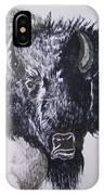 Big Bad Buffalo IPhone Case