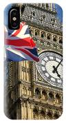 Big Ben And Union Jack IPhone Case