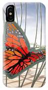 Big Glass Butterfly In Flight IPhone Case