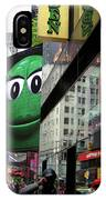 Big Green M And M IPhone Case