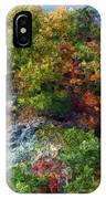Big Hill Cliffs In Autumn IPhone Case