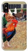 Big Red And The Girls IPhone Case