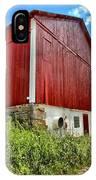 Big Red Barn IPhone Case