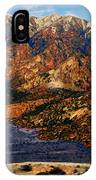 Big Rock Mountain IPhone Case
