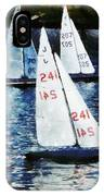 Big Sailors And Little Boats IPhone Case