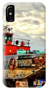 Big Ship Rising IPhone Case