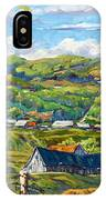 Big Valley By Prankearts IPhone Case