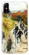 Big Wheel Bicycles IPhone Case