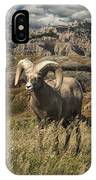 Bighorn Ram In The Badlands IPhone Case