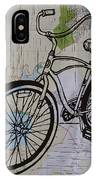 Bike 6 On Map IPhone Case