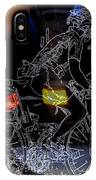 Bike Rider - Canada To Charleston To New Orleans IPhone Case