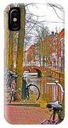 Bikes And Canals IPhone Case