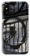 Bikes In The Rain IPhone Case