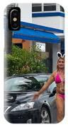 Bikini Bunny In Miami IPhone Case