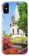 Biltmore And Japanese Maple Trees IPhone Case