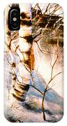 Birch By Stream IPhone Case